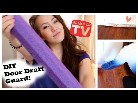 Keep the Cold Air Out and the Warm Air In. Make These No-Sew Door Draft Guards