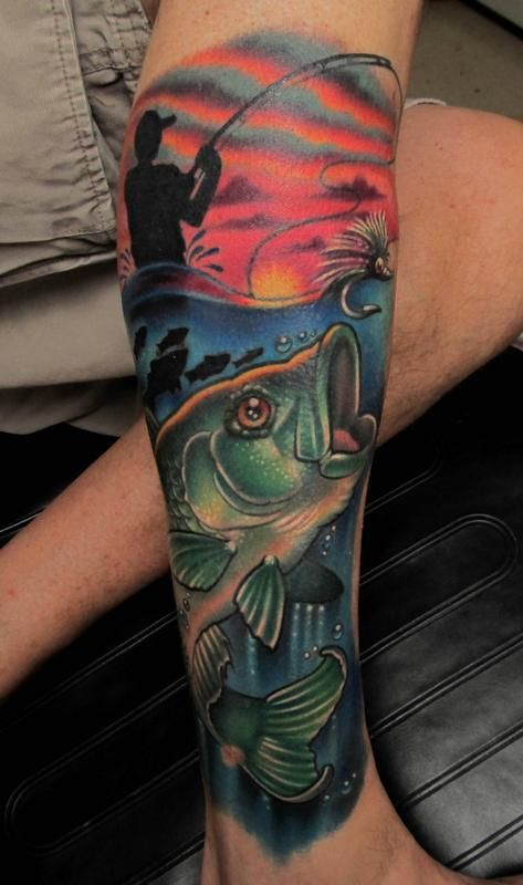 fisherman tattoo - Google-søk                                                                                                                                                                                 Más