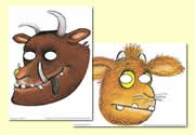 The Gruffalo's Child  Role Play Masks