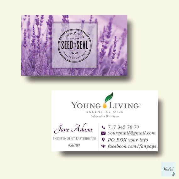 The 25 best ideas about Young Living Business Cards on