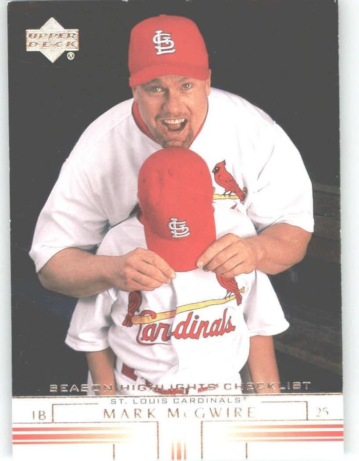 2002 Upper Deck 745 Mark McGwire SH CL - St. Louis Cardinals (Checklist) (Baseball Cards) -- Want to know more, click on the image.