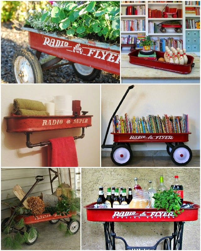 New Uses for Old Red Wagons