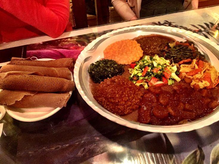 Photo of Lalibela Ethiopian Restaurant - Chicago, IL, United States. Great Ethiopian food.