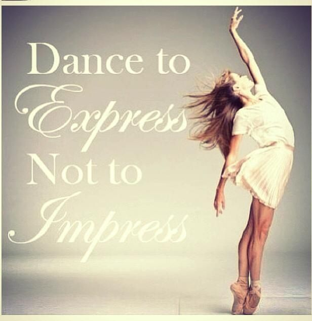 When I Dance Love To Express Myself In Emotion Most Serenely Do Not