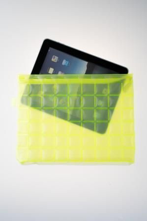 CELL, inflatable iPad case.