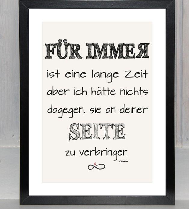 FÜR IMMER grafisch - Print,