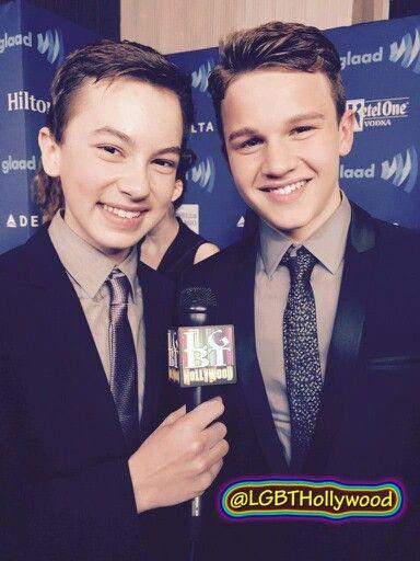 Hayden Byerly and Gavin Macintosh
