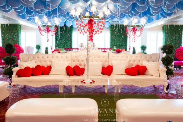 Planned, Designed & Produced by www.SwankProductions.com  #AliceInWonderland #BatMitzvah