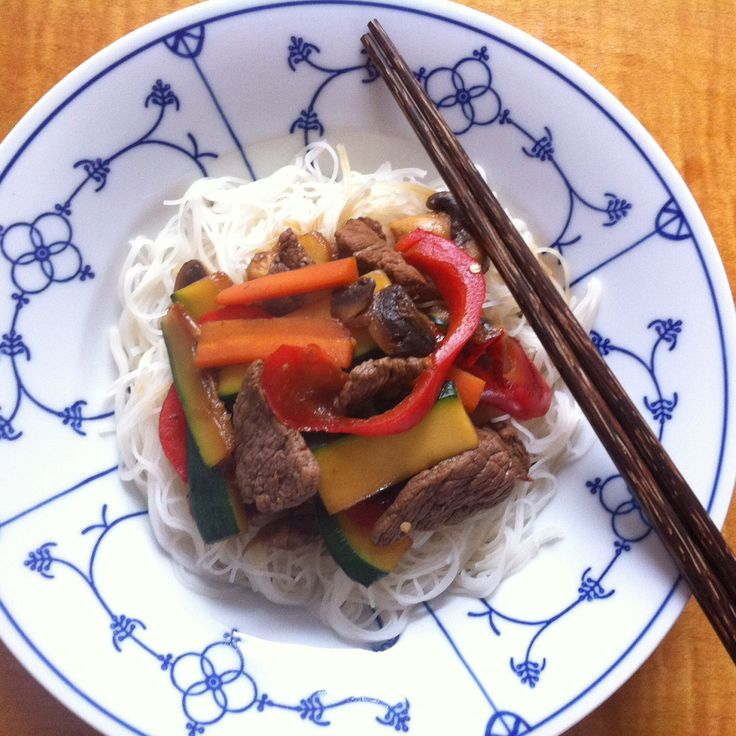 Mihoen met Gemarineerde Biefstuk