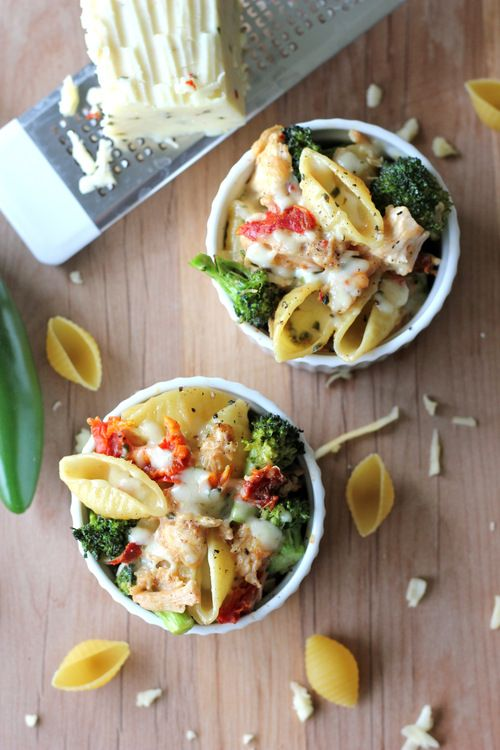 Broccoli Chicken Mac and Cheese from~ http://damndelicious.net/post ...