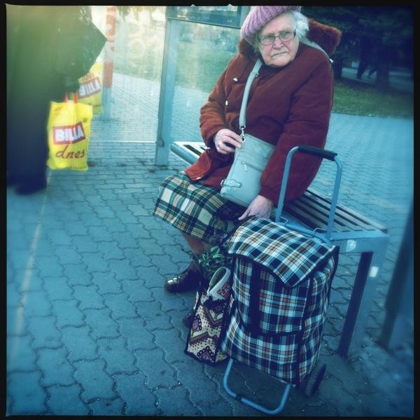bratislava, bus stop