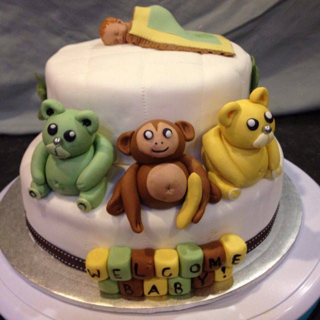 Baby Shower Cake by Creative Cake-a-Tiers <3