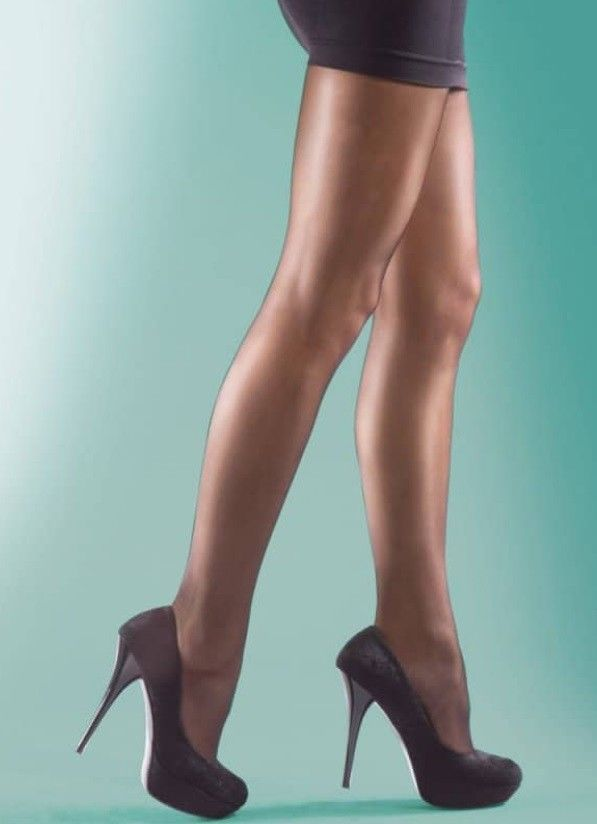 73ffe2379 New Silky Shine Look Tights Size XL 48-54