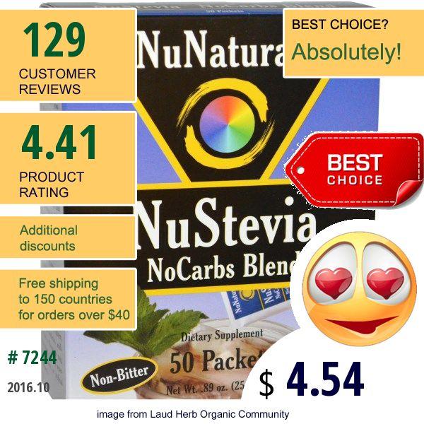 Nunaturals #Nunaturals #Sweeteners #Stevia #食品 #甘味料 #ステビア #ПродуктыПитания #Подсластители #Стевия #감미료 #스테비아