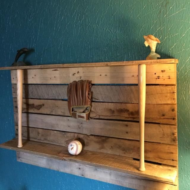 For Sale: Reclaim wood Baseball trophy shelf.. - Monroe County, IN ...