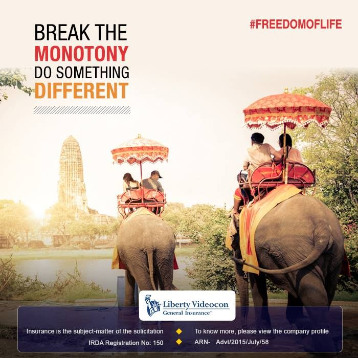 This holiday, break the monotony and do something different with the #FreedomOfLife conduct.
