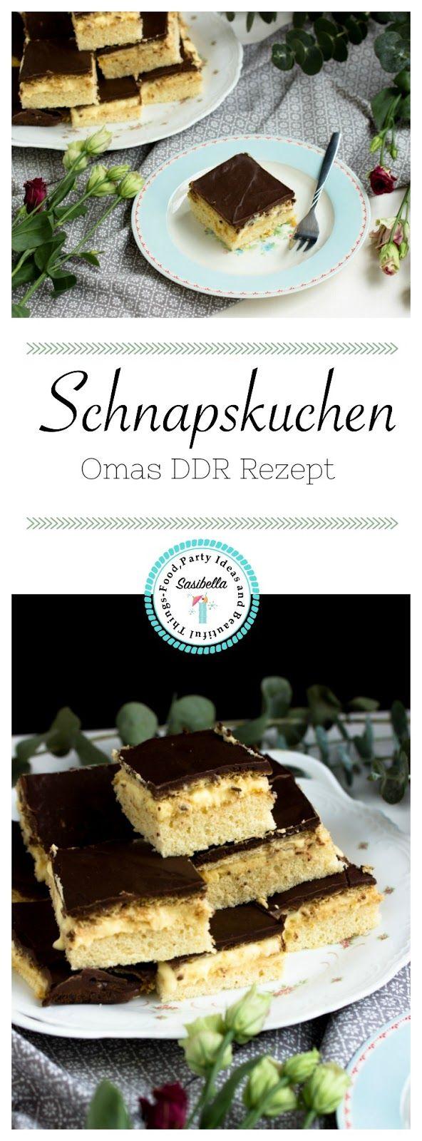 Schnapskuchen nach Omas DDR Rezept. Auch als LPG Kuchen bekannt.Ein leckeres Kuchenrezept für eure nächste Party.