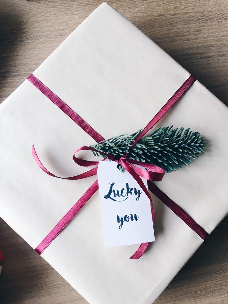 Jul, julegaver og til og fra mærker