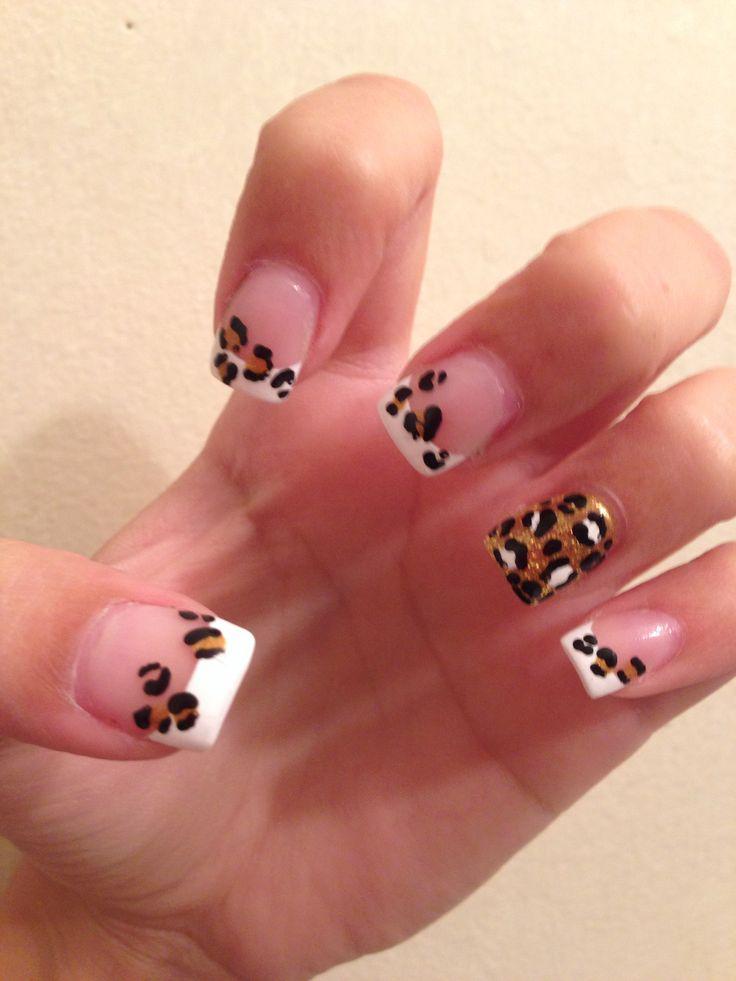 My awesome #cheetah #nails