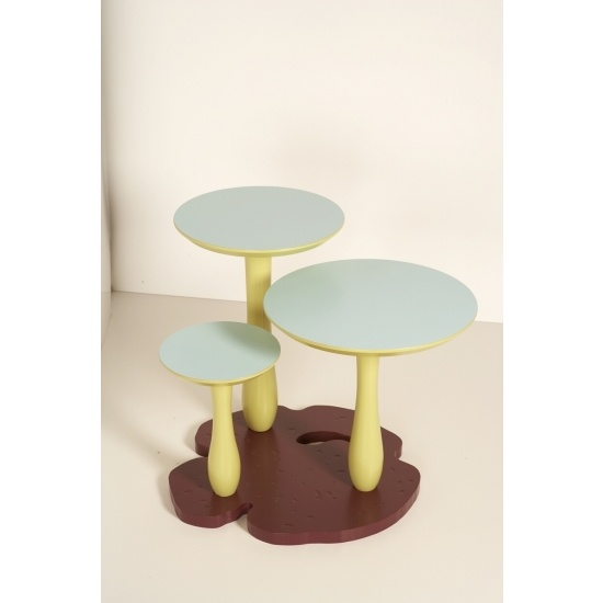 Thomas Wold Mushroom Forest Side Table