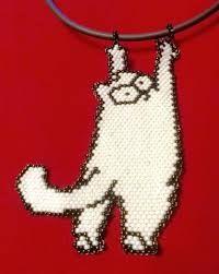 """Képtalálat a következőre: """"кот саймона из бисера"""""""