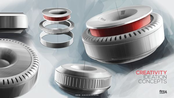Fire & Smoke® - Intelligent Smoke Detector on Behance