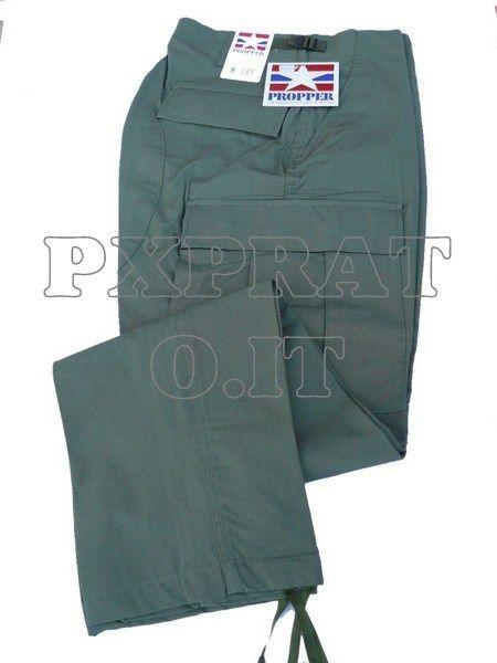 Pantaloni Militari PROPPER Verdi Americani USA BDU Cotone RipStop Antistrappo [3015-SBB] :: Abbigliamento Militare :: Abbigliamento Militare - PX Prato