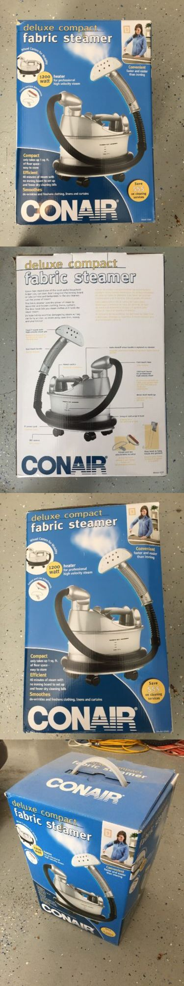 Lint Removers and Lint Shavers 170626: Fabric Steamer Conair Gs60 Deluxe Compact Smooths Wrinkles From Clothing New -> BUY IT NOW ONLY: $69 on eBay!