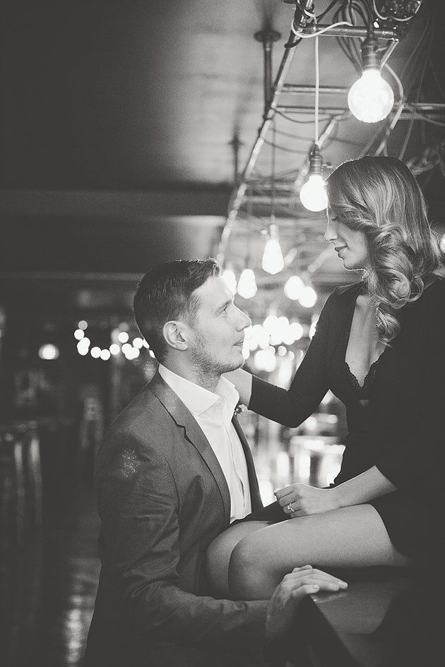 Romantic Old Hollywood engagement photos. Indoor photo ideas. Engagement Posing ideas.   Toronto, GTA and Destination Weddings and Engagement Photographer.