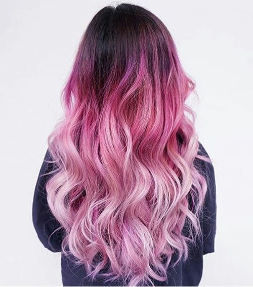 Imagen de hair, fashion, and pink