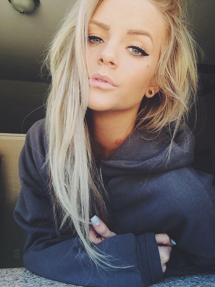 top blond dyb hals