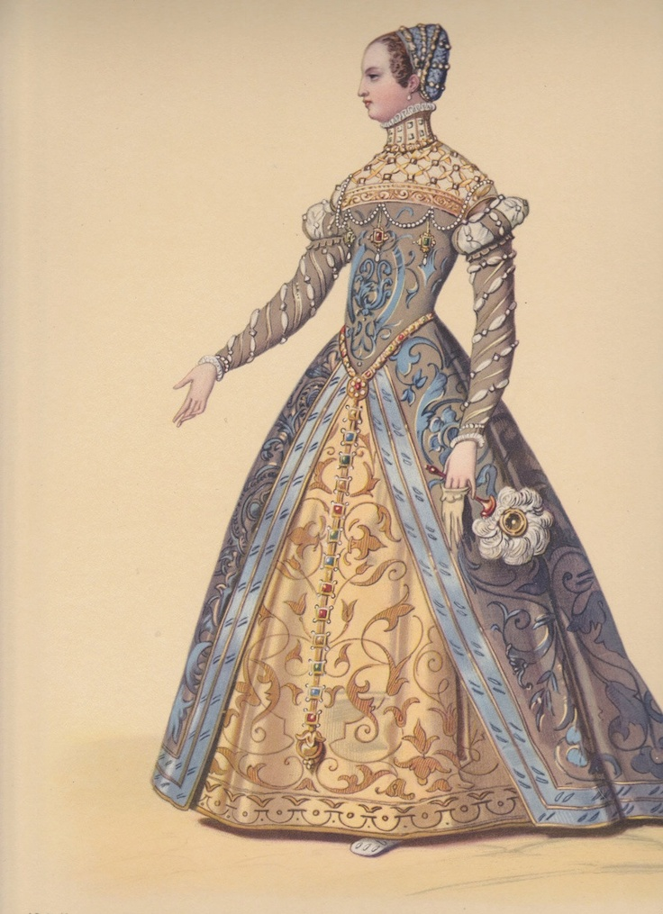 The 25 best elizabethan fashion ideas on pinterest for French tudor