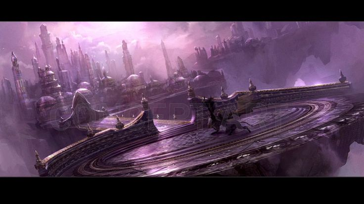 Concept art from the World of Warcraft movie
