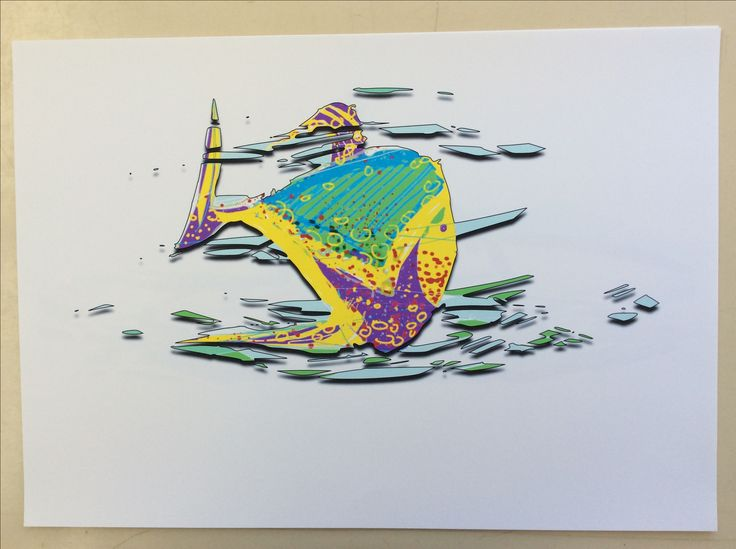 New work - Tropical fish