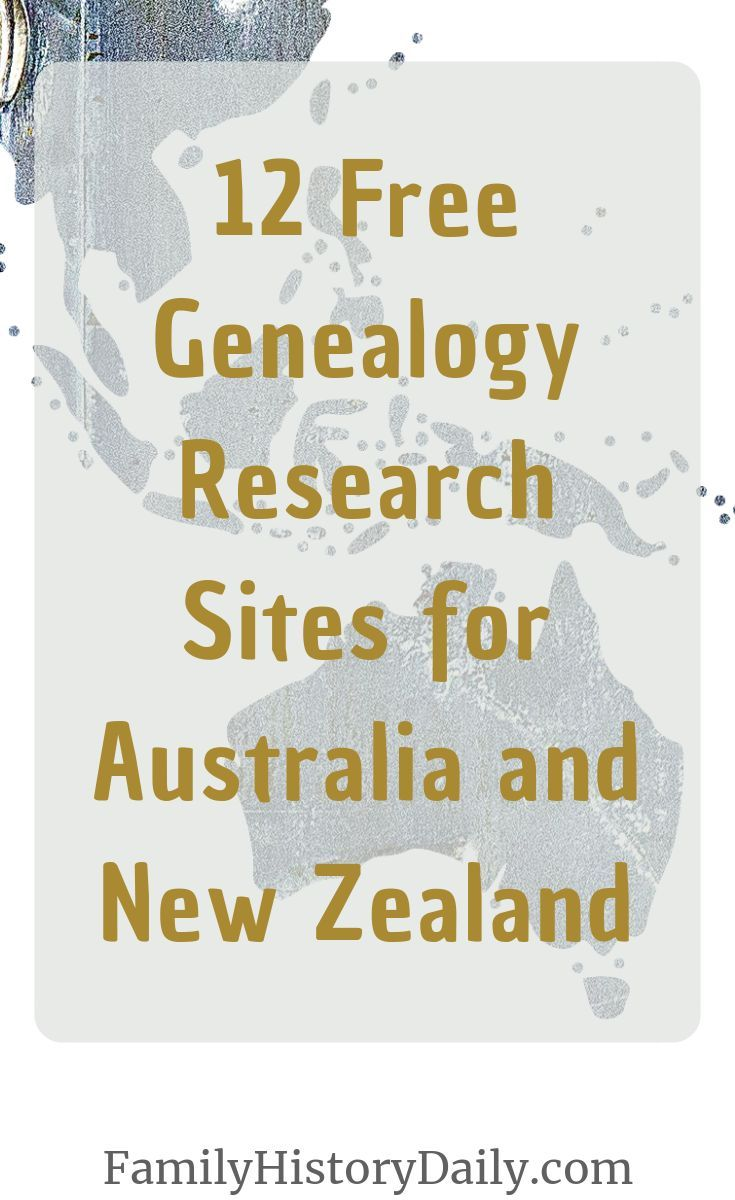 12 Free Genealogy Research Sites for Australia and New
