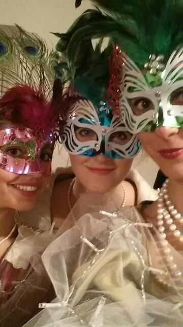 Tre mascherine da favola