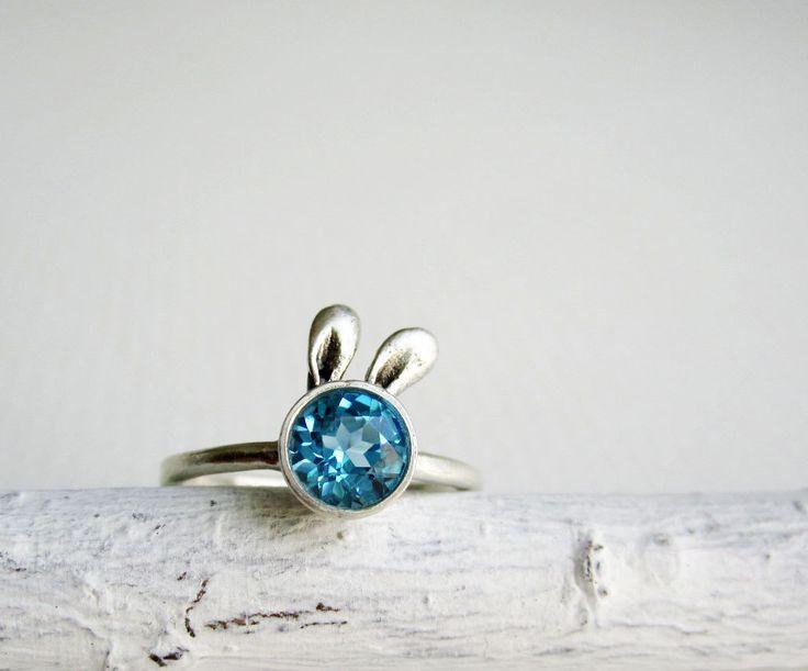{Bunny Ring} so adorable! ♥