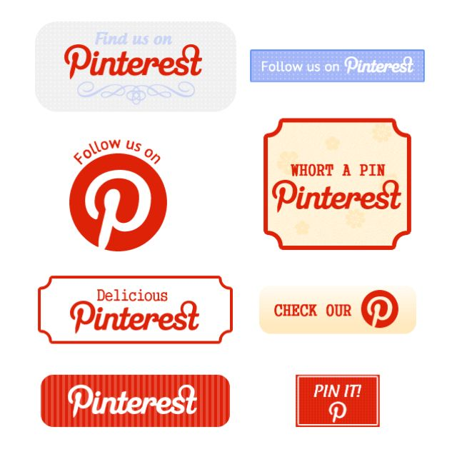 how to add pinterest button to website