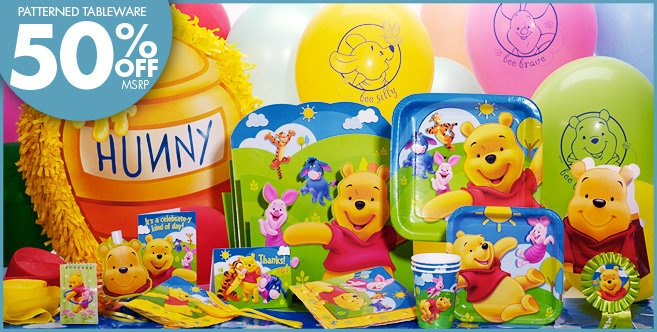 Winnie The Pooh Party Supplies Pooh Birthday Party