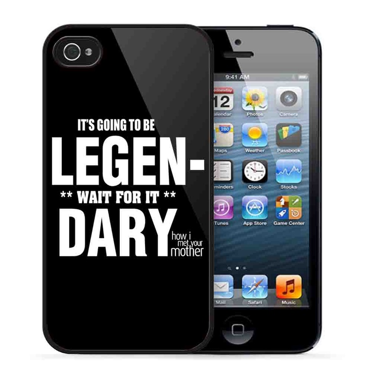 HIMYM LEGENDARY QUOTE 2 – iPhone 5 Case,