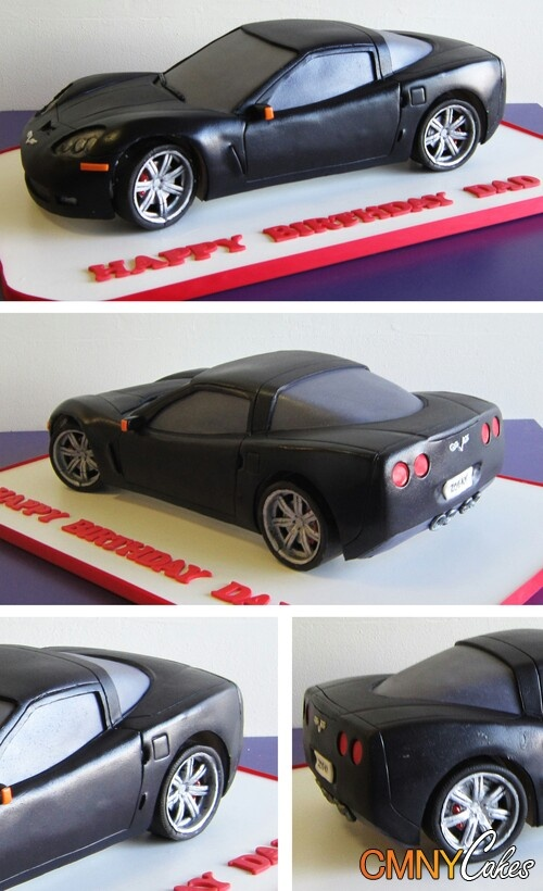 Car cake... wow, one of the best I've seen                                                                                                                                                                                 More
