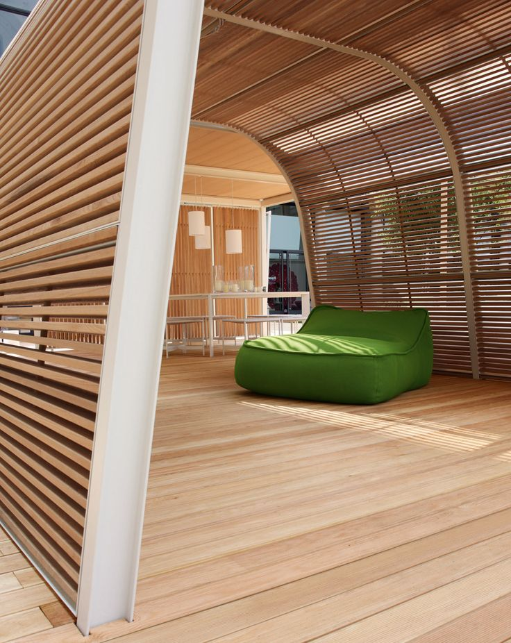 Chic-architecture-Cabanne-Sculpture-from-wood-and-metal #Materials