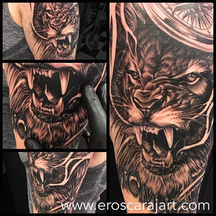 Lion Tattoo #Brisbane #Tattoo #Artist #Tattooist #TattooStudio