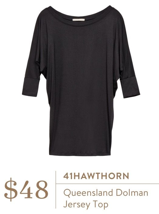 Stitch Fix February 2016 - 41Hawthorn Queensland Dolman Jersey Top $48