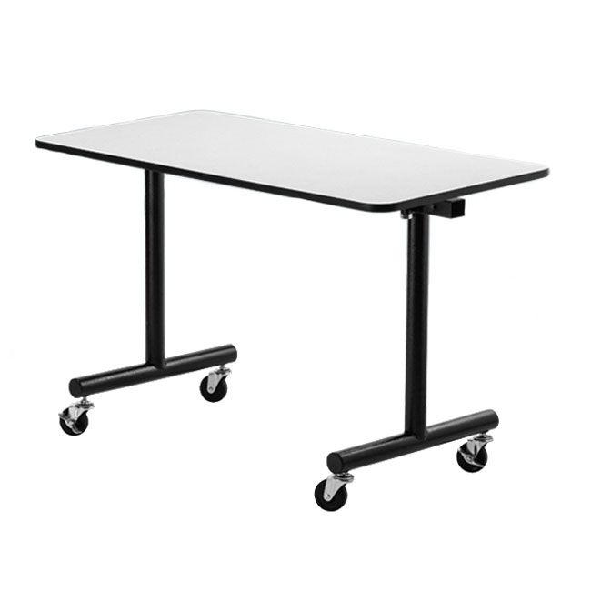 Togo Flip Top Table By National Public Seating 60 X 30 Vinyl Edge Tgt3060pbtm 96668 Flip Top Table Public Seating Balcony Table Chairs