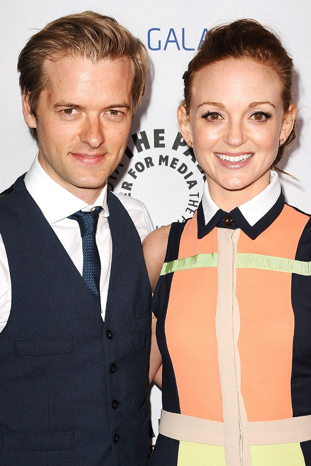 Glee's Jayma Mays Is Pregnant! Actress and Hubby Adam Campbell Expecting First Child | E! Online