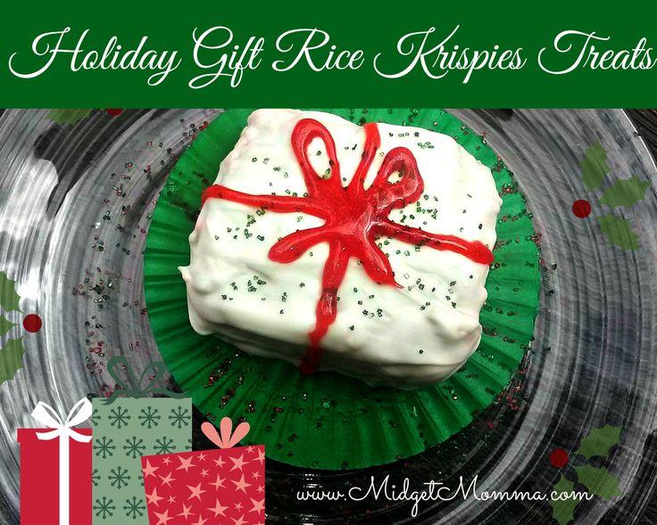 Holiday Gift Rice Krispies Treats