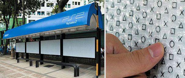Playstation Bus stop