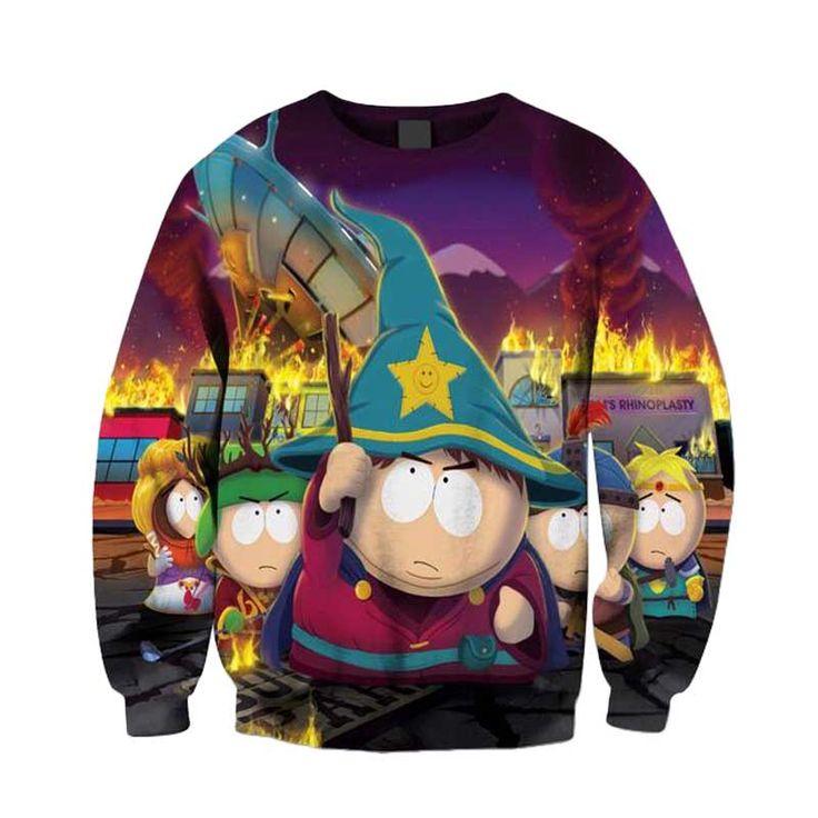 South Park Explosion unisex 3D print Sweatshirt //Price: $24.99 & FREE Shipping //     #hashtag3