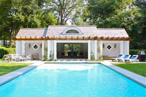 pool house, CT, architect Rink Dupont